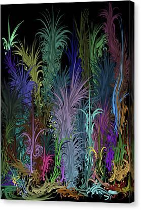 Octopus' Garden Canvas Print by Russell Pierce