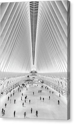 Oculus New York City  Canvas Print