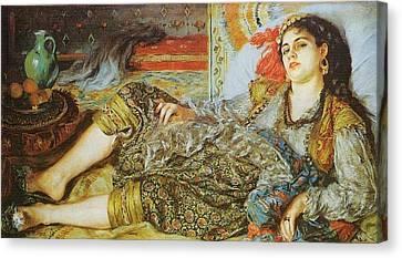 Odalisque   1870 Canvas Print