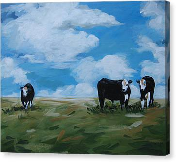 Odd Cow Out Canvas Print