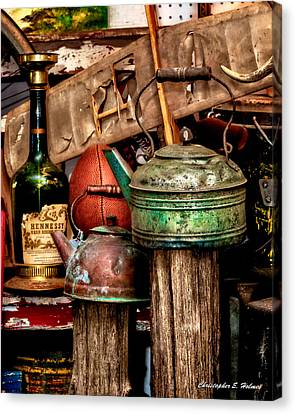 Odds And Ends Canvas Print by Christopher Holmes
