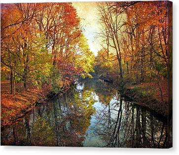 Canvas Print featuring the photograph Ode To Autumn by Jessica Jenney