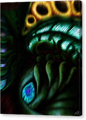 Ode To Lovecraft Canvas Print by Jason Breaux