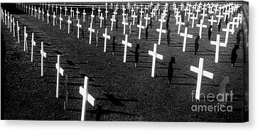 Ode To The Fallen Canvas Print