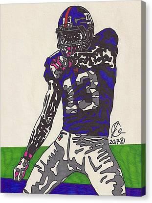 Odell Beckham Jr  Canvas Print