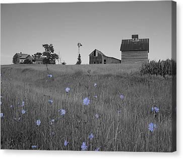 Odell Farm Iv Canvas Print