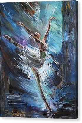 Odette Canvas Print