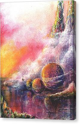 Odyessy Canvas Print by Melody Horton Karandjeff