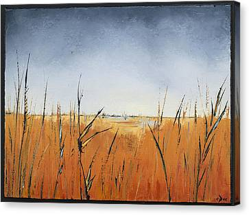 Of Grass And Seed Canvas Print by Carolyn Doe