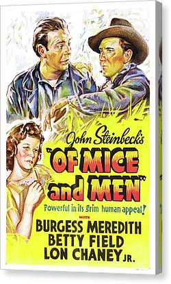 Of Mice And Men 1939 Canvas Print