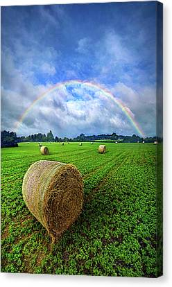 Of The Light So Pure And True Canvas Print
