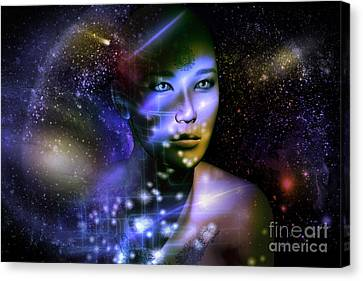 Of The Stars Canvas Print by Shadowlea Is