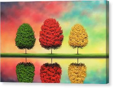 Of Yesteryear Canvas Print by Rachel Bingaman