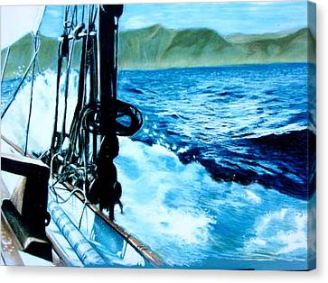 Off Maui Canvas Print