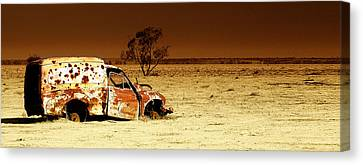 Off Road Canvas Print by Holly Kempe
