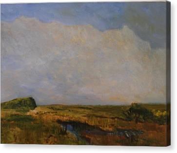 Off The Beaten Path Canvas Print by Michael Helfen