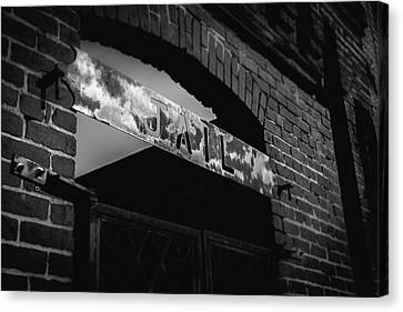 Off To Jail Canvas Print