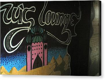 Off To The Lounge Canvas Print by Jez C Self