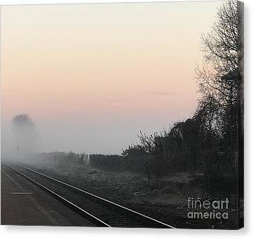 Off To Work Canvas Print