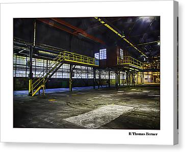 Office Canvas Print by R Thomas Berner