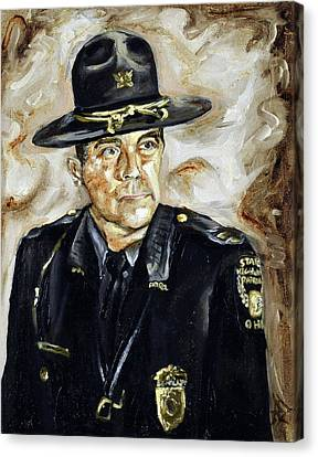 Officer Demaree Canvas Print