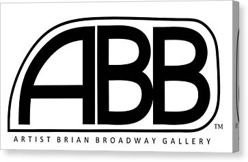 Official Abb Gallery Logo Canvas Print by Brian Broadway