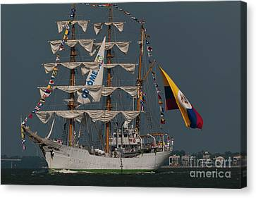 Official Flagship Canvas Print by Dale Powell