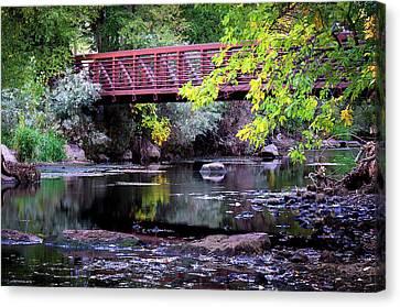 Ogden River Bridge Canvas Print
