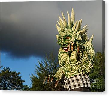 Ogoh-ogoh Festival Bali Monster Canvas Print