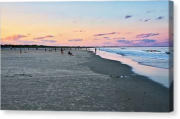 Canvas Print - Ogunquit Beach - Southern Maine by Steven Ralser