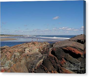 Ogunquit Maine Canvas Print by Joy Bradley