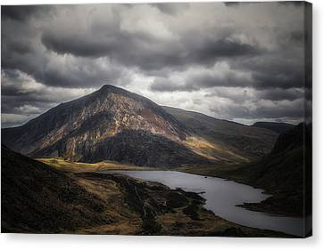 Ogwen Canvas Print by Chris Fletcher