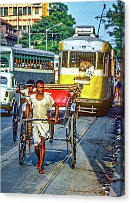 Oh Calcutta Canvas Print