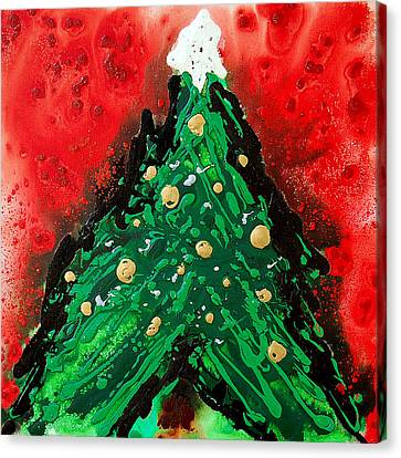 Oh Christmas Tree Canvas Print by Sharon Cummings