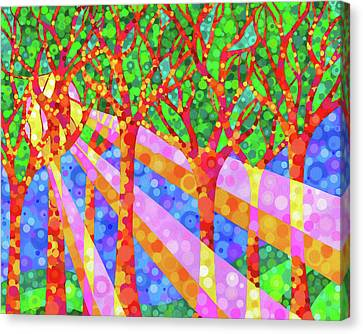 Oh Happy Day Canvas Print by Jennifer Allison