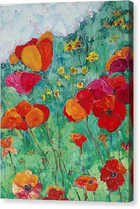 Oh Happy Day Canvas Print by Tara Moorman