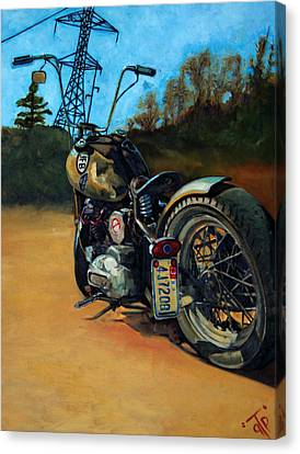 Oh Hell Yea Canvas Print by George Frizzell