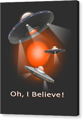 Oh I Believe  Se Canvas Print by Mike McGlothlen
