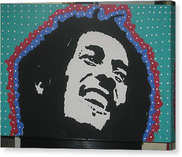 Canvas Print featuring the drawing Oh Marley Where Are You Now by Robert Margetts