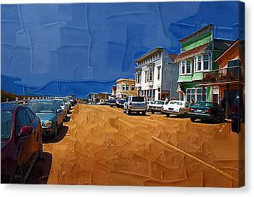 Oh Mendocino Canvas Print by Holly Ethan