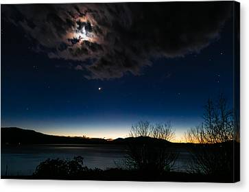 Oh What A Night Canvas Print