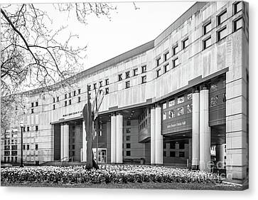 Ohio State University College Of Law Canvas Print by University Icons