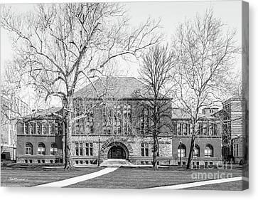 Ohio State University Hayes Hall Canvas Print by University Icons