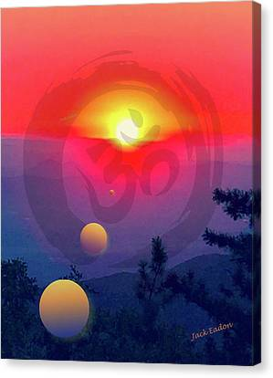 Ohm Canvas Print by Jack Eadon
