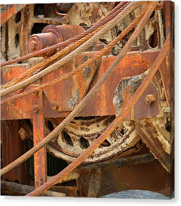Oil Production Rig Canvas Print