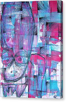 Ojo Canvas Print by Jera Sky