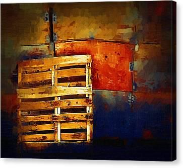 Okanagan Pallet Canvas Print by Bill Kellett