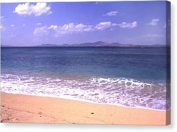 Okinawa Beach 16 Canvas Print by Curtis J Neeley Jr