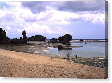 Okinawa Beach 18 Canvas Print by Curtis J Neeley Jr