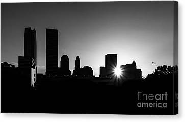 Canvas Print featuring the photograph Oklahoma City by Betty LaRue